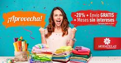 Ofertas de Modatelas  en el folleto de Monterrey