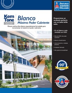 Ofertas de Sherwin Williams  en el folleto de Morelia