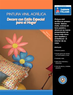 Ofertas de Sherwin Williams  en el folleto de Azcapotzalco