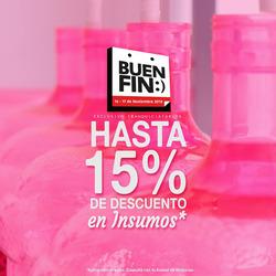 Ofertas de Agua Inmaculada  en el folleto de Puebla