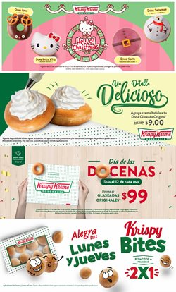 Ofertas de Restaurantes en el catálogo de Krispy Kreme en Iztacalco ( 2 días publicado )