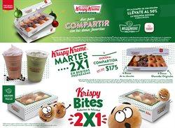 Ofertas de Restaurantes en el catálogo de Krispy Kreme en Ecatepec de Morelos ( 11 días más )