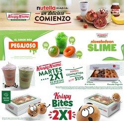 Ofertas de Restaurantes en el catálogo de Krispy Kreme en Miguel Hidalgo ( 20 días más )