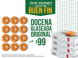 Ofertas de Krispy Kreme  en el folleto de Ciudad de México
