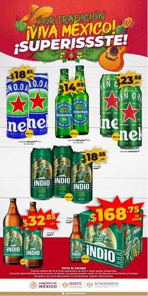 Ofertas de Hiper-Supermercados en el catálogo de SuperISSSTE ( Vence mañana)