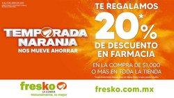 Ofertas de Hiper-Supermercados en el catálogo de Fresko ( 2 días más)