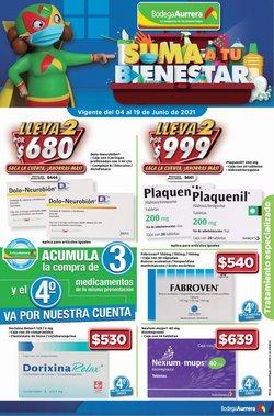 Ofertas de Hiper-Supermercados en el catálogo de Bodega Aurrera ( 4 días más)