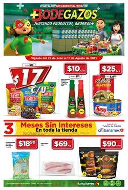 Ofertas de Hiper-Supermercados en el catálogo de Bodega Aurrera ( 14 días más)