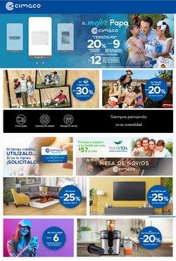 Ofertas de Tiendas Departamentales en el catálogo de Cimaco ( Publicado hoy)