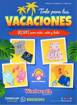 Ofertas de Ropa, Zapatos y Accesorios en el catálogo de Woolworth en Ciudad Obregón ( Caduca hoy )