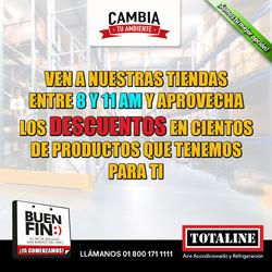 Ofertas de Totaline  en el folleto de Monterrey