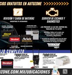 Ofertas de Autos, Motos y Repuestos en el catálogo de AutoZone ( Caduca hoy )