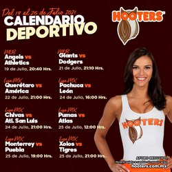 Ofertas de Hooters en el catálogo de Hooters ( Vence mañana)