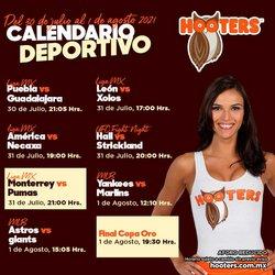 Catálogo Hooters ( Vence mañana)