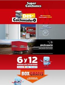 Ofertas de Hogar y Muebles en el catálogo de Super Colchones ( 5 días más )