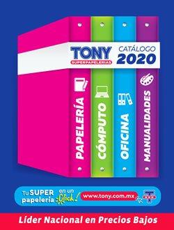 Catálogo Tony Super Papelerías ( Más de un mes )