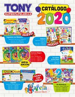 Ofertas de Librerías y Papelerías en el catálogo de Tony Super Papelerías en Cancún ( Más de un mes )