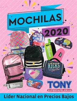 Catálogo Tony Super Papelerías en Ciudad de México ( Más de un mes )