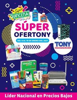 Ofertas de Librerías y Papelerías en el catálogo de Tony Super Papelerías en Zapopan ( 4 días más )