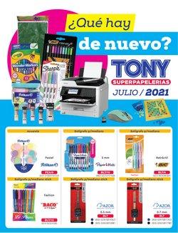 Catálogo Tony Super Papelerías ( Vence hoy)