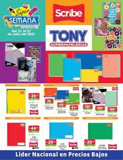 Ofertas de Librerías y Papelerías en el catálogo de Tony Super Papelerías ( Vence mañana)