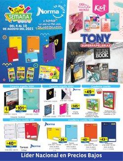Catálogo Tony Super Papelerías ( Publicado hoy)