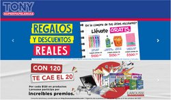 Ofertas de Librerías y Papelerías en el catálogo de Tony Super Papelerías ( 4 días más)