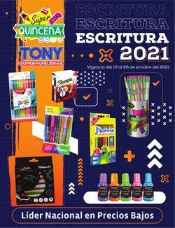 Ofertas de Librerías y Papelerías en el catálogo de Tony Super Papelerías ( 5 días más)