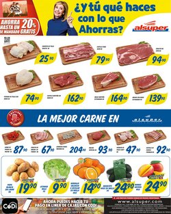 Ofertas de Hiper-Supermercados en el catálogo de Alsuper ( 2 días más )