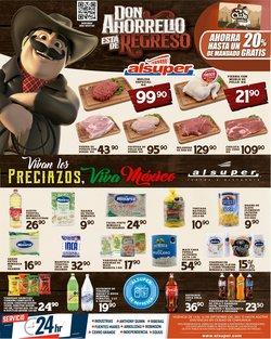 Ofertas de Hiper-Supermercados en el catálogo de Alsuper ( Vence hoy)