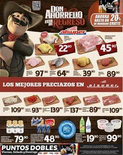 Ofertas de Hiper-Supermercados en el catálogo de Alsuper ( Publicado ayer)
