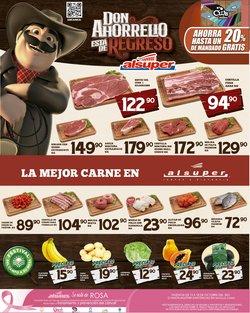 Ofertas de Hiper-Supermercados en el catálogo de Alsuper ( Vence mañana)