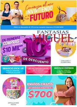 Ofertas de Tiendas Departamentales en el catálogo de Fantasías Miguel en Torreón ( Publicado hoy )