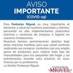 Cupón Fantasías Miguel en Ciudad de México ( Caduca hoy )