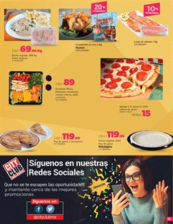 Ofertas de Pizza  en el folleto de City Club en Los Reyes Acaquilpan