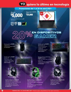 Ofertas de Teclado en City Club
