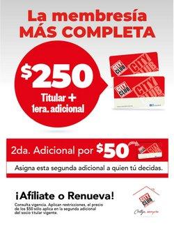 Ofertas de Tiendas Departamentales en el catálogo de City Club ( Vence hoy)