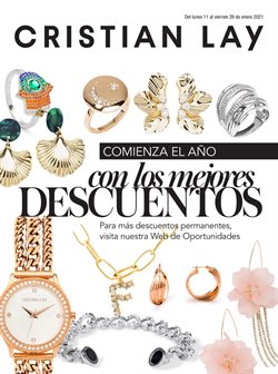 Ofertas de Perfumerías y Belleza en el catálogo de Cristian Lay en Benito Juárez (CDMX) ( 2 días más )