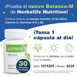 Ofertas de Farmacias y Salud en el catálogo de Herbalife en Santiago de Querétaro ( Vence mañana )