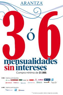 Ofertas de Arantza  en el folleto de Monterrey