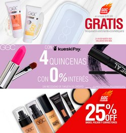 Ofertas de Perfumerías y Belleza en el catálogo de Goc Make up ( Publicado ayer)