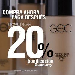 Ofertas de Perfumerías y Belleza en el catálogo de Goc Make up ( Vence hoy)