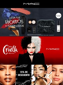 Catálogo MAC Cosmetics ( Vence hoy)