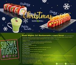 Ofertas de Restaurantes en el catálogo de Sushi Roll en Iztacalco ( Publicado ayer )