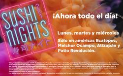 Ofertas de Sushi Roll  en el folleto de Benito Juárez (Ciudad de México)