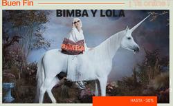 Ofertas de Bimba y Lola  en el folleto de Puebla
