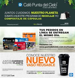 Catálogo Café punta del Cielo ( 5 días más )