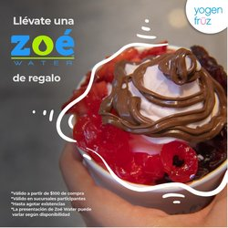 Ofertas de Restaurantes en el catálogo de Yogen Früz ( 11 días más)