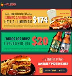 Ofertas de Restaurantes en el catálogo de Las Alitas ( 15 días más)