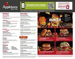 Ofertas de Restaurantes en el catálogo de Applebee's ( Más de un mes )